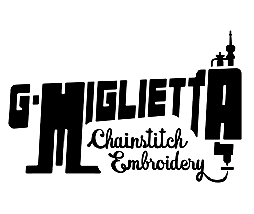 G Miglietta Chainstitch Embroidery